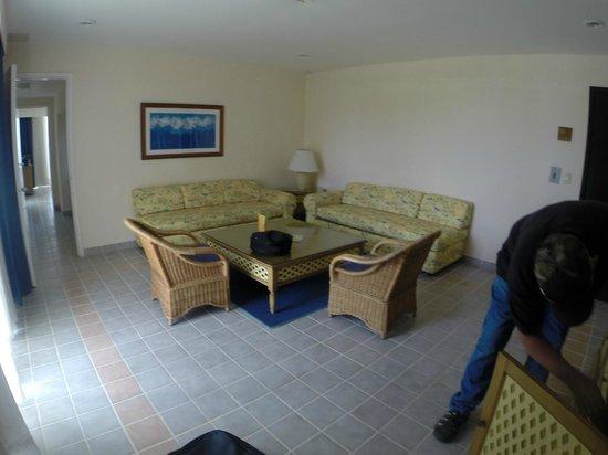 Playa Azul Golf, Scuba, Spa: Living room
