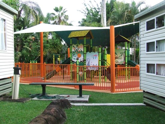 Ashmore Palms Holiday Village: Oneof the childrens playgrounds
