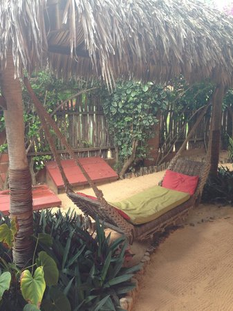 Pousada Ibiscus: Excelente área de descanso com bom sinal de wi-fi
