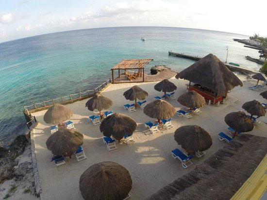 Playa Azul Golf, Scuba, Spa: View from our room