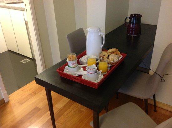Art Suites : café da manhã
