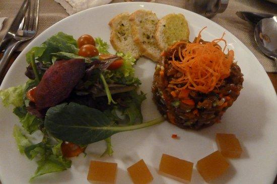 Quinoa: Selten zu bekommen: Cochayuyu-Salat (große Meeresalgen)