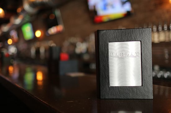 Parlay Gastropub: Check out our extensive craft hops & libation menu