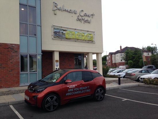Belmore Court Motel: Electric Vehicle Charging in Car Park