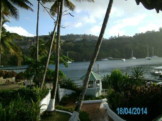 Marigot Beach Club and Dive Resort: Bahía de Marigot