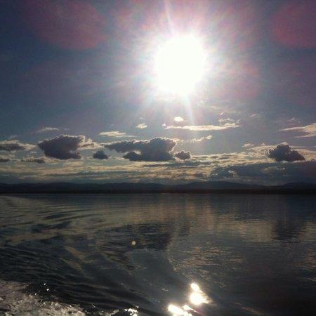 Riviere-du-Loup & Saint-Simeon Ferry: Vue du retour