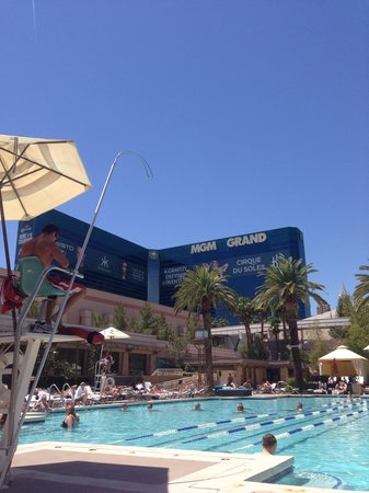 MGM Grand Hotel and Casino : the pool