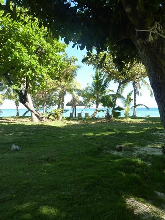 Treasure Island Resort : The view from our Bure