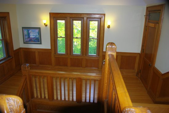 The Inn at Ragged Edge : A sample of the beautiful woodwork throughout the building.