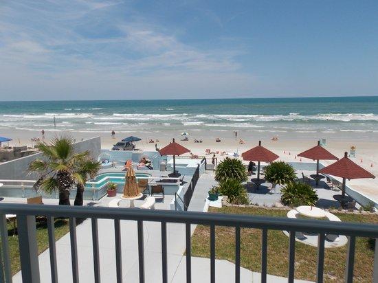 Dream Inn : View Of Ocean From Room #223