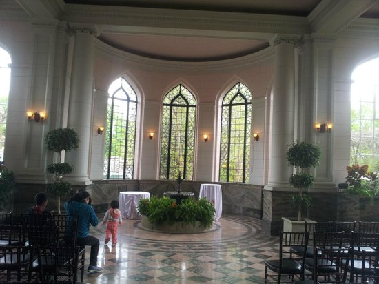Casa Loma: A wedding was set up here