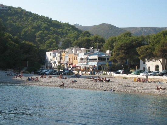 Playa La Granadella: Granadella
