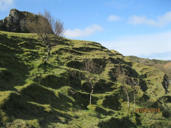 Fairy Glen : Heading down