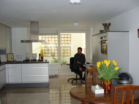 Singel Guesthouse: Cozinha!