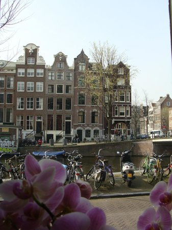 Heren Bed & Breakfast Amsterdam: Vista da janela