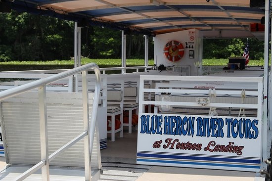Blue Heron River Tours: Our Comfortable Transportation Perfect For Seeing in All Directions.