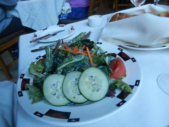 The Majestic Yosemite Hotel: Green Salad (Ahwahnee Dining Room)