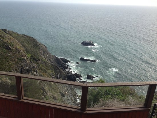 Ragged Point Inn: View from room