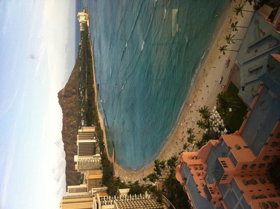 Sheraton Waikiki: View from top floor