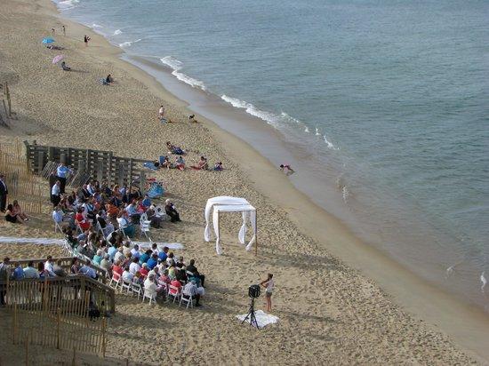 Sea Ranch Resort : Wedding View from 5th Floor 5.10.14