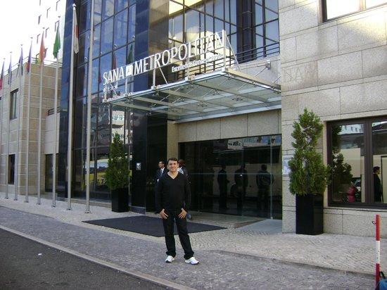 SANA Metropolitan Hotel: Fachada do Hotel