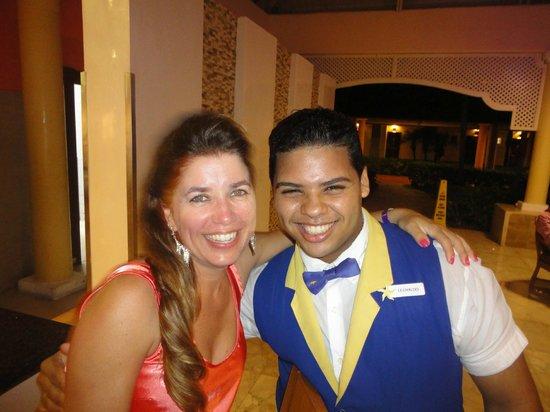 Iberostar Punta Cana: Leovaldo o melhor barman