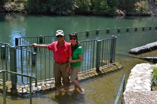 Guided Tours Israel - Day Tours : Yardenit Baptismal site on the Jordan River