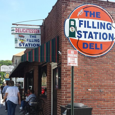 The Filling Station Deli Sub Shop: A must food stop