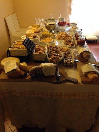 Relais La Corte dei Papi: The breakfest