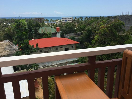 Agos Boracay Rooms + Beds: awesome view