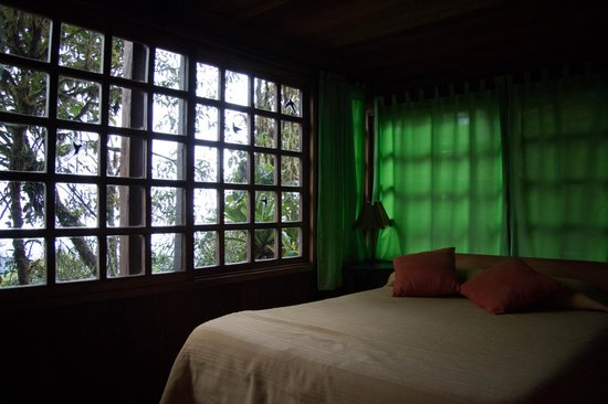 Bellavista Cloud Forest: Our suite had a bedroom with separate kitchette/living room