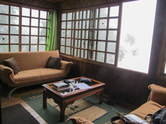 Bellavista Cloud Forest: Our suite had a kitchette/living room and separate bedroom