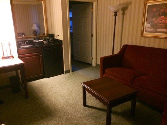 Galt House Hotel : Living Room of Suite