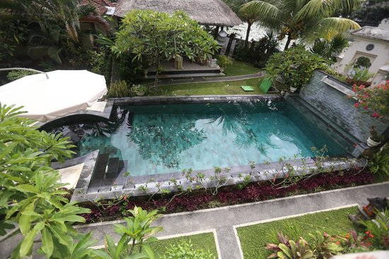 Rama Shinta Hotel - Padang Bai - Bali - Indonesia - Wandervibes - view of pool from room