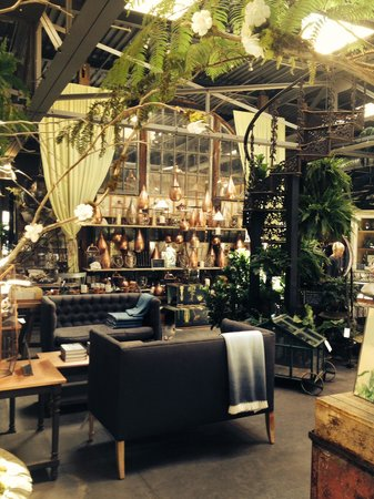 Great cafe in amazing store picture of terrain garden for Garden cafe designs