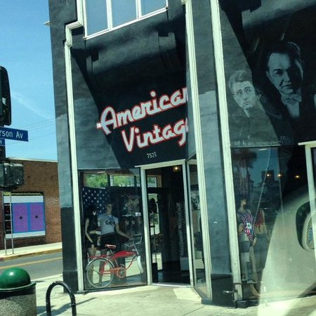 Vintage clothing store los angeles