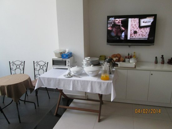 Yellow House Saigon Hotel: Breakfast