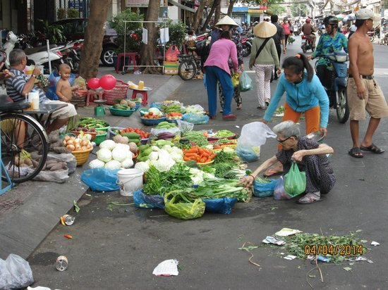 Yellow House Saigon Hotel : Neighborhood