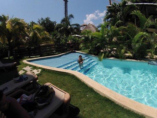 Hotel Posada Sian Ka'an: picina