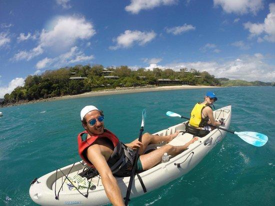 Qualia Resort: Kayaking