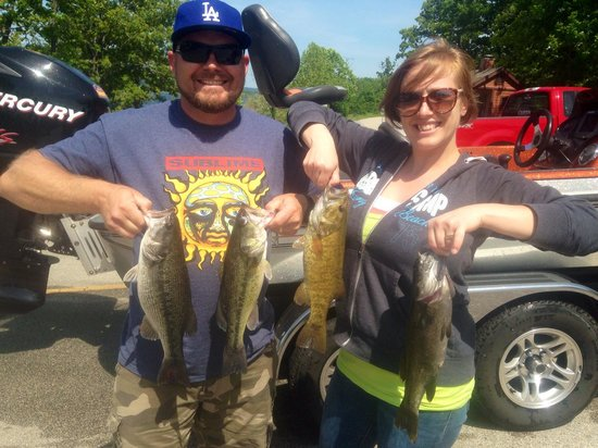 Branson Fishing Adventures : Fishing at Table Rock