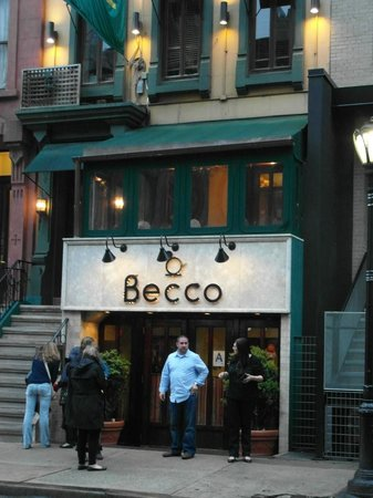 Becco : restaurant entrance