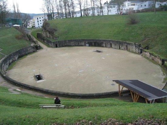 Amphitheater: vista do alto