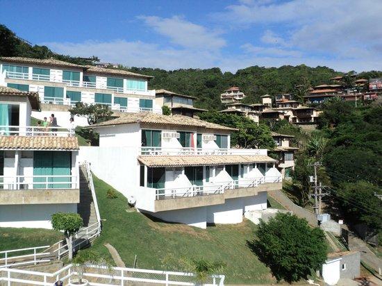 Hotel Pousada Experience Joao Fernandes: vista panoramica do hotel quarto 9