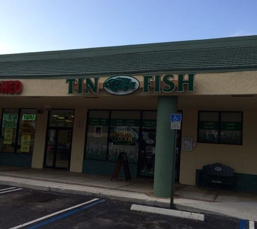 The Tin Fish: Fish was cooking!
