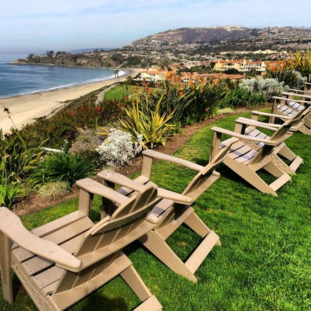 The Ritz-Carlton, Laguna Niguel: Adirondack chairs for relaxing