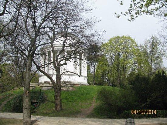 Lazienki - Royal Residence Park: predio em reforma
