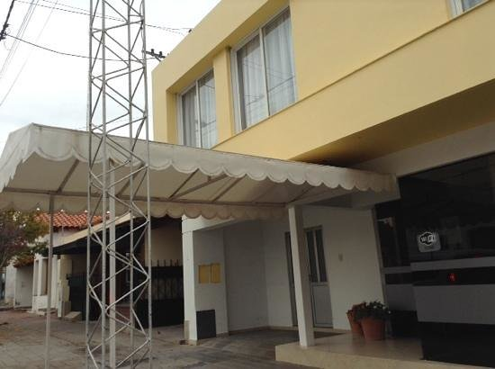 Patagonia Hotel: frente