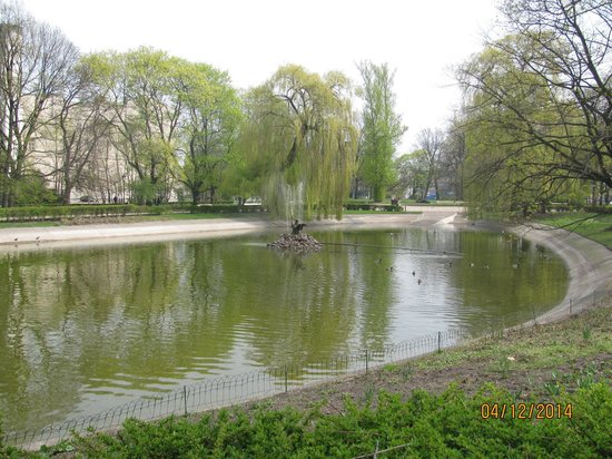 Lazienki - Royal Residence Park: parque lazienki