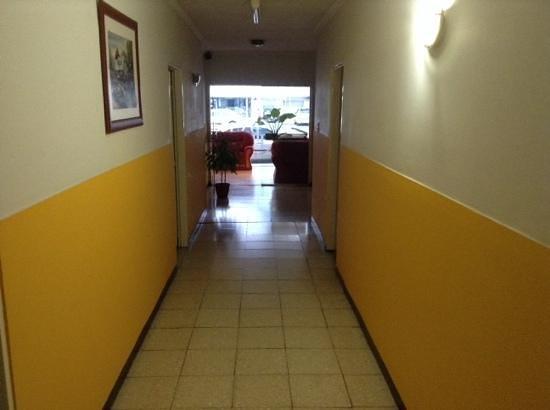 Patagonia Hotel: pasíllo